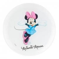 Тарелка десертная Luminarc Disney Minnie Colors Дисней Минни Колорс - 20 см.
